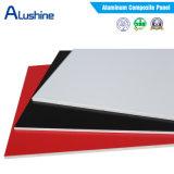 Panneau composite en aluminium et en plastique de 3mm 4mm 5mm pour mur intérieur ou extérieur en utilisant