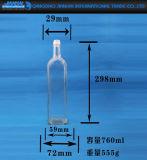 Bottiglia di vetro del vino di qualità superiore