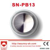 Höhenruder Round Buttons mit Mirror Surface (SN-PB13)