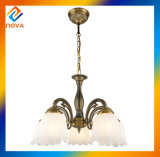 Lampe pendante de type européen neuf/lumière en verre avec la qualité