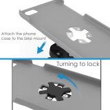 Cassa corrente registrabile del supporto del bracciale della serratura veloce per il supporto di iPhone