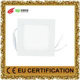 LEDの暖かい白色光のダイオードによって埋め込まれる正方形の照明灯AC85-265V