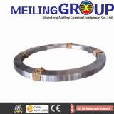 O aço do rolamento fêz anéis pesados