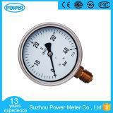 100mmの半分のステンレス鋼のオイルの満たされたWikaの圧力計
