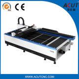 Kohlenstoffstahl-Faser-Laser-Ausschnitt-Maschine für Blech