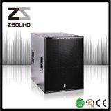 Systeem van de Luidspreker van de PA van 18 Duim van Zsound S118h het Mono Audio Commerciële Sub Bas