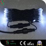 Decoración cable de PVC LED cadena de luz de Navidad
