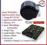 kit del mecanismo impulsor del motor del coche eléctrico de 48V 10kw