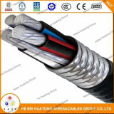 Serie de aluminio 8000 del alambre del tipo constructivo cable 600V 600kcmil de la UL de Xhhw-2