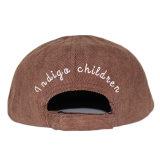 عادة أطفال تطريز مخمل مضلّع 5 لوح غطاء قبعة