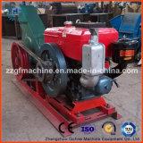 Burilador de madera eléctrico o diesel