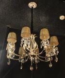 Phine pH-0814z 15 Arme moderne Swarovski Kristalldekoration-hängende Beleuchtung mit Gewebe-Farbton-Vorrichtungs-Lampen-Leuchter-Licht