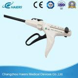Grapadora linear endoscópica de articulación del cortador