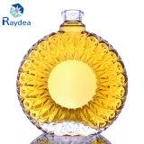 Bottiglia di vetro di Xo in silice con la parte superiore del sughero