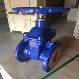 Válvula de porta do fabricante da água de Wcb do GOST Dn50