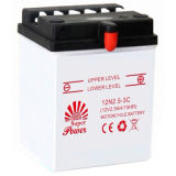 Long Storage Lifeの乾燥したChargedおよびMaintenance Free Motorcycle Battery 6N 12N YTX Serial