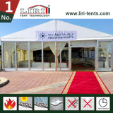 200 Leute-Aluminiumfestzelt-Zelte mit Glas-ABS Wänden