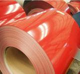 PPGIの建築材料の金属の鋼鉄製造はカラー上塗を施してある鋼鉄コイルをPrepainted (しわが寄っている)