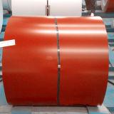 La bobine de PPGI et a enduit la bobine d'une première couche de peinture galvanisée (Ral3001)