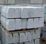 Piedra del bordillo gris del granito con la certificación del CE