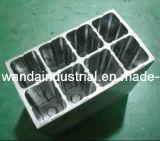 Aluminium CNC die Delen voor de Communicatie Assemblage van de Apparatuur machinaal bewerken