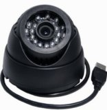 "1/4 do "" de CCTV Camera do USB Dome CMOS 0.3 Megapixel com Memory Card"