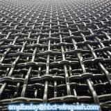 Engranzamento de fio frisado mineração da tela de Wir do aço de carbono