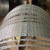 Prix bas Galv chaud de fournisseur de la Chine. Frontière de sécurité de fil en accordéon de rasoir