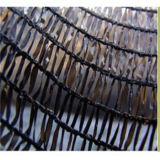 Rete di sicurezza lavorata a maglia di verde del gommino di protezione, rete verde/nera del filamento piano dell'HDPE di agricoltura