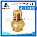 Soupape d'aspiration en laiton (YL406)