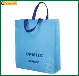 Sacchetto non tessuto riciclato ecologico su ordinazione (TP-SP455)