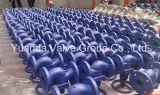Het eind van DIN Cast Iron Globe Valve Flange PN16
