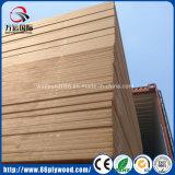 Доска MDF средств равнины доски волокна плотности сырцовая