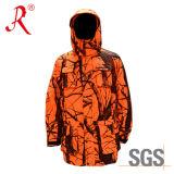 Windproof и водоустойчивая куртка звероловства камуфлирования (Qf-944A)