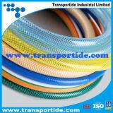 Mangueira elevada do PVC Layflat de Quatity Transportide