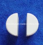 Fournisseur en céramique de Moitié-Cylindre d'alumine résistante à l'usure de Chemshun de Chine