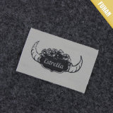 Etiquette d'épaulement en coton imprimé en douceur personnalisé
