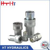 Acciaio inossidabile che misura l'accoppiamento rapido idraulico dell'accoppiatore di disinnesto rapido idraulico del tubo flessibile