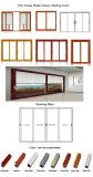 Puerta de plegamiento de aluminio de lujo de Feelingtop para el edificio (FT-D75)