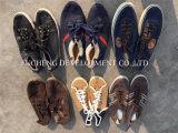 Большой размер и самые лучшие ботинки спортов Qualtiy дешево оптовые используемые (FCD-002)