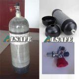 Bottiglie di Scba della fibra del carbonio del pompiere 4500psi