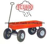 Сделано в тележке инструмента перевозки Китая красной вместительной