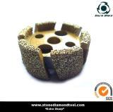 Колеса ранга паяемые вакуумом заштыря для машины CNC