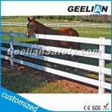 Pasamano del PVC de Geelian, postes plásticos blancos de la cerca