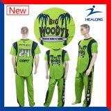 Healongはカスタム設計するチームワイシャツの野球ジャージーを昇華した