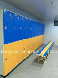 2ドアが付いている体操のロッカー各コラム