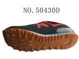 Trois chaussures d'action de couples d'unité centrale Flyknit de couleur