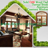 Окно Casement типа Америка деревянное алюминиевое