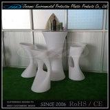 回転鋳造物のプラスチック家具LED棒椅子