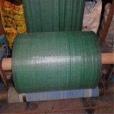 Cerca tejida PP negra del légamo del verde para la construcción